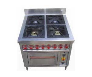 4 Burner Range With Oven2